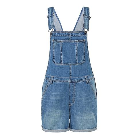 CONVERSE/匡威 新款女子时尚子系列牛仔短裤13737C470