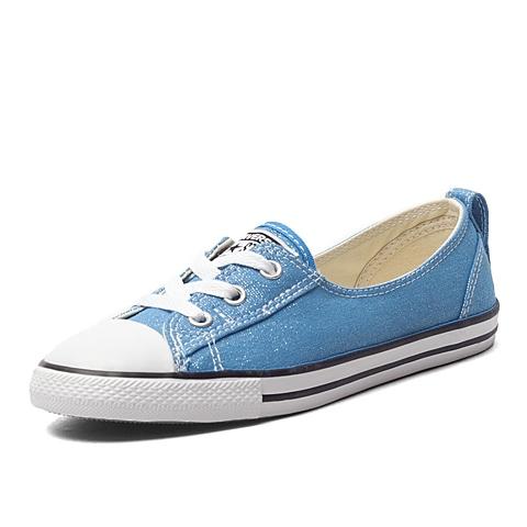 CONVERSE/匡威 新款女子Chuck Taylor 非常青款低帮系带硫化鞋552921C