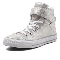 CONVERSE/匡威 新款女子Chuck Taylor非常青高帮系带硫化鞋553339C