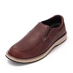 crocs卡骆驰 男子 春夏专柜同款弗雷便鞋 深咖啡色/草灰 满帮鞋休闲鞋  15916-2H5