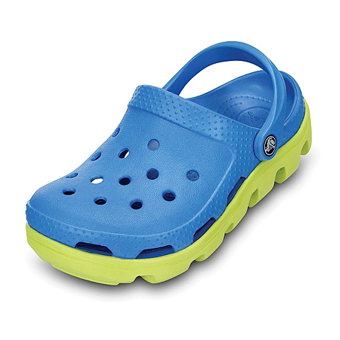 crocs卡骆驰 儿童 春夏专柜同款运动小迪特 海蓝/柑橘 洞洞鞋凉鞋沙滩鞋 11992-4C5