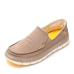 Crocs 卡骆驰 男子  专柜同款 男士舒跃奇便鞋 草灰/水泥灰 满帮鞋帆船鞋休闲鞋 14773-2G6