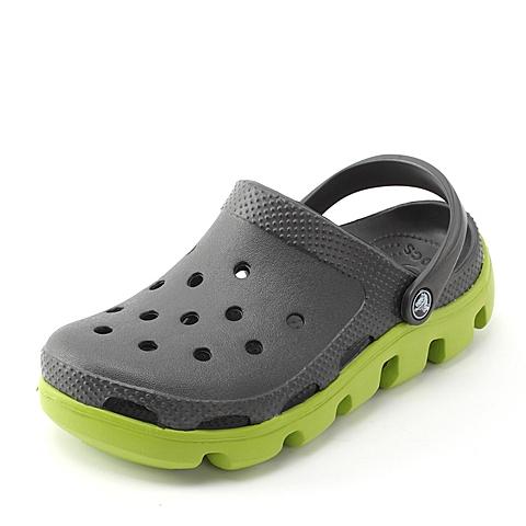 Crocs 卡骆驰 中性  专柜同款 运动迪特 石墨/翠绿 洞洞鞋凉鞋沙滩鞋 11991-0A1