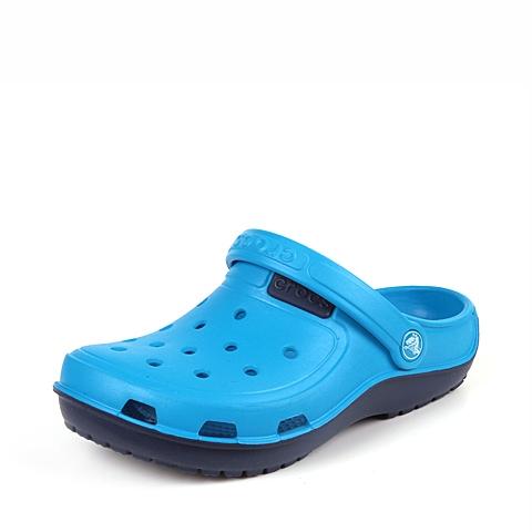 Crocs卡骆驰  中性  专柜同款 海浪迪特 海蓝/海军蓝 洞洞鞋 凉鞋 沙滩鞋 200366-4DG