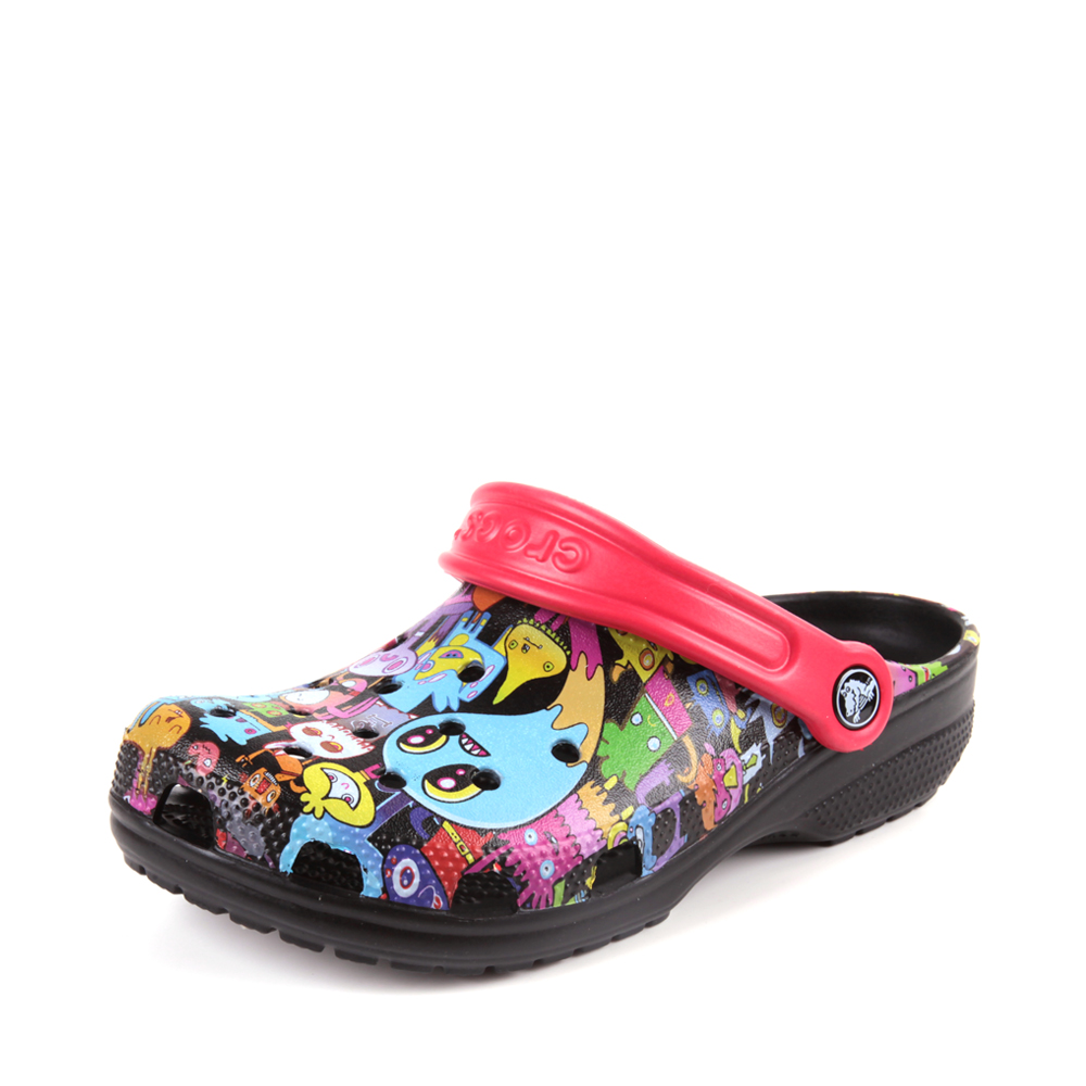 Crocs卡骆驰 中性 专柜同款 经典伯格曼克骆格 黑色 洞洞鞋 凉鞋 沙滩鞋 202269-001