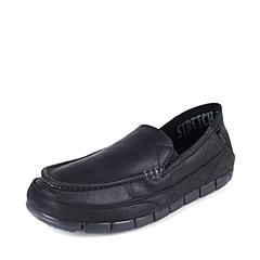 Corcs 卡骆驰 男子 专柜同款 舒跃奇睿智便鞋 黑/黑 满帮鞋帆船鞋休闲鞋 201771-060