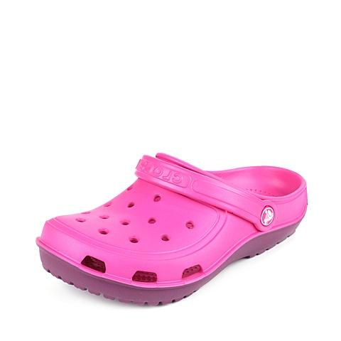 Corcs 卡骆驰 中性专柜同款 海浪迪特 糖果粉/深紫红 洞洞鞋凉鞋沙滩鞋 200366-6KS