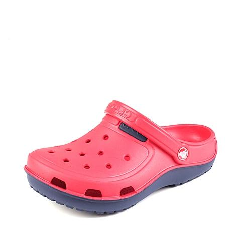 Corcs 卡骆驰 中性 专柜同款 海浪迪特 火红/海军蓝 洞洞鞋凉鞋沙滩鞋 200366-8C2