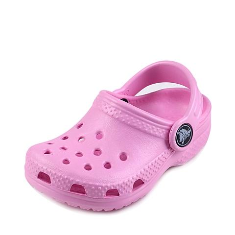 Crocs卡骆驰 儿童 2016春夏 专柜同款 经典小克骆格 肉粉色 沙滩 旅行 戏水 童鞋 10006-6I2