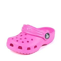 Crocs卡骆驰 儿童 春夏 专柜同款 经典小克骆格 亮光红 沙滩 旅行 戏水 童鞋 10006-6L0