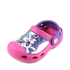 Crocs卡骆驰 儿童 春夏 专柜同款 小马宝莉克骆格  糖果粉 沙滩 旅行 戏水 童鞋 201191-6X0