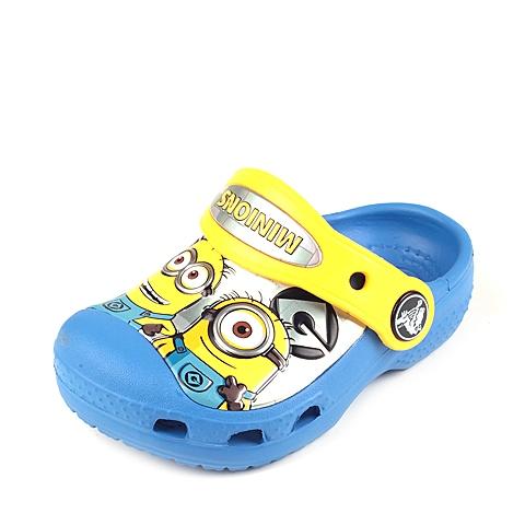 Crocs卡骆驰 儿童 春夏 专柜同款 小黄人克骆格 学院蓝/黄 沙滩 旅行 戏水 童鞋 201311-4FZ