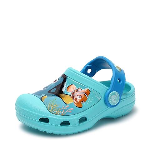 Crocs卡骆驰 儿童 2016春夏 专柜同款 海底总动员多莉小克骆格  浅湖蓝  沙滩 旅行 戏水 童鞋 202683-40M
