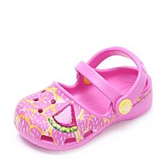 Crocs卡骆驰 儿童 春夏 专柜同款 卡琳西瓜宝宝小克骆格  派对粉  沙滩 旅行 戏水 童鞋 203227-6U9