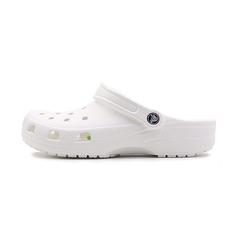 Crocs卡骆驰 男女中性 春夏 专柜同款经典克骆格 白色 沙滩 旅行 戏水 男女同款洞洞鞋10001-100
