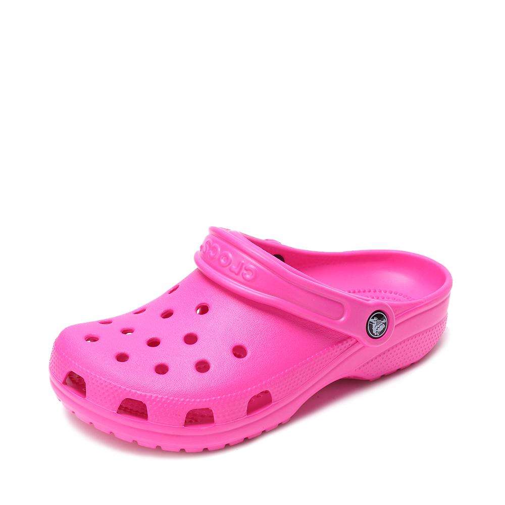 Crocs卡骆驰 男女中性 2016春夏 专柜同款经典克骆格 亮光红 沙滩 旅行 戏水 男女同款洞洞鞋10001-6L0