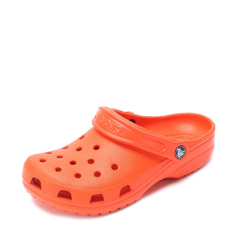 Crocs卡骆驰 男女中性 2016春夏 专柜同款经典克骆格 橘子橙 沙滩 旅行 戏水 男女同款洞洞鞋10001-817