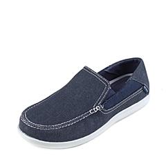Crocs卡骆驰 男子 春夏专柜同款 圣克鲁兹帆布便鞋二代深蓝/浅灰 旅行 便鞋 休闲鞋202056-41S