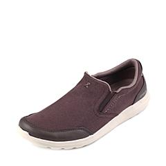 Crocs卡骆驰 男子 春夏专柜同款 塞尔王帆布便鞋深咖啡色/卵石色 旅行 便鞋 休闲鞋203051-2U1