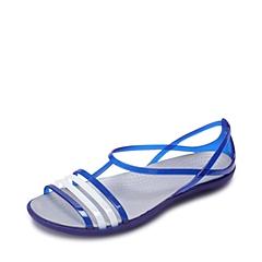Crocs卡骆驰 女子 春夏 专柜同款  女士伊莎贝拉夏日凉鞋 蔚蓝 沙滩 旅行 戏水 凉鞋202465-4O5