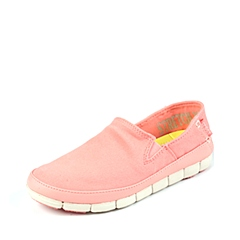 Crocs卡骆驰 女子 2016春夏 专柜同款 女士舒跃奇便鞋西瓜红/水泥灰 休闲 旅行 15318-6KM