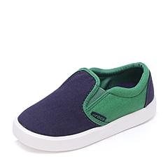 Crocs卡骆驰 儿童   专柜同款 都会街头儿童便鞋 深蓝/黄绿色 沙滩 旅行 戏水 童鞋 203520-413