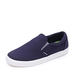 Crocs卡骆驰 男子  专柜同款 男士都会街头男士便鞋 深蓝/白色 旅行 便鞋 休闲鞋203401-462