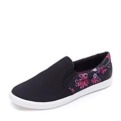 crocs卡骆驰 女子   专柜同款 女士都会街头便鞋 黑色/深紫红 203545-02J