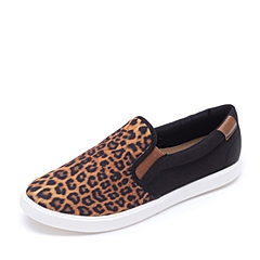 crocs卡骆驰 女子 2016新款 专柜同款 女士都会街头便鞋 豹纹/黑色 203545-95K