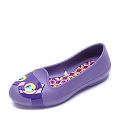 Crocs卡骆驰 儿童   专柜同款 伊芙小动物儿童平底鞋 蓝紫色 沙滩 旅行 戏水 童鞋 203522-5K2