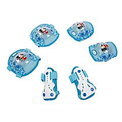 迪士尼 儿童溜冰轮滑滑板护具 旱冰护膝护肘护掌套装特价