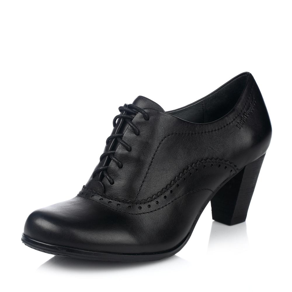 hush puppies/暇步士秋季黑色牛皮女皮鞋(丹尼娜)商务正装dan01cm2
