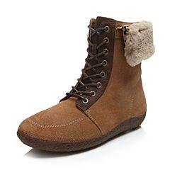 Hush Puppies/暇步士2016冬季专柜同款牛皮女休闲鞋W1M02DD6
