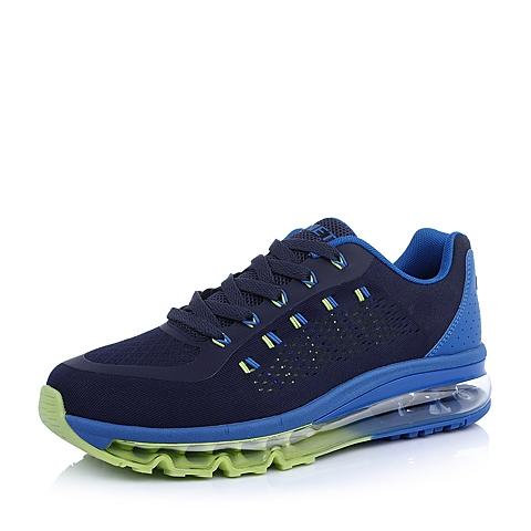 INNET跑步休闲 Cloud 系列蓝色网布气垫男运动鞋15010AM5