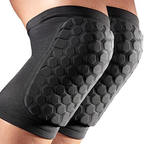 美国迈克达威McDavid HEXPAD速干排汗防撞护膝护小腿6440-BK