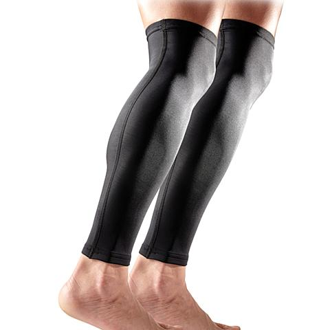 美国迈克达威McDavid 篮球网羽跑步骑行紧身排汗护小腿6572R-BK