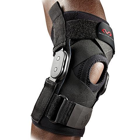 美国迈克达威McDavid 韧带半月板扭伤术后合页架固定支撑护膝429XR