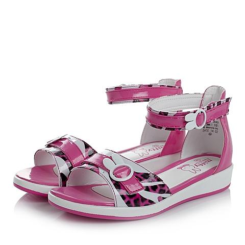 MIFFY/米菲夏季PU女中童凉鞋时尚凉鞋DM0049