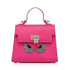 millie's/妙丽专柜同款时尚镶钻斜挎手提包女小方包X0468AX6