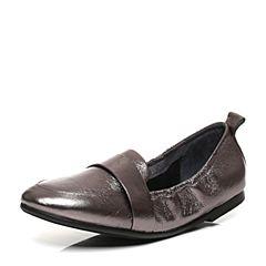 millie's/妙丽秋季专柜同款牛皮简约平底女单鞋LQ221CM7