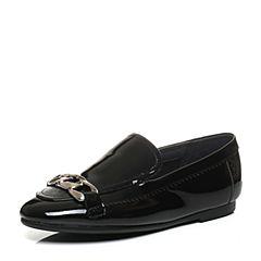 Millie's/妙丽2017秋专柜同款漆牛皮低跟深口女单鞋LQ223CM7