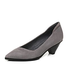 millie's/妙丽秋季专柜同款羊绒女浅口单鞋LP302CQ7