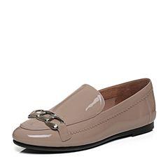 millie's/妙丽秋季专柜同款漆牛皮低跟深口女单鞋LQ223CM7