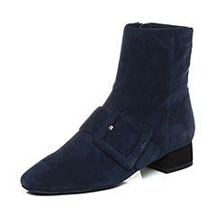 millie's/妙丽冬季专柜同款羊绒时尚女短靴LQ945DD7