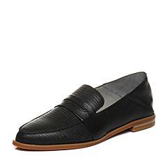 millie's/妙丽2018春专柜同款羊皮时尚方跟女单鞋LN821AM8
