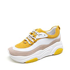 millie's/妙丽2018秋专柜同款羊皮时尚女休闲鞋老爹鞋S5331CM8