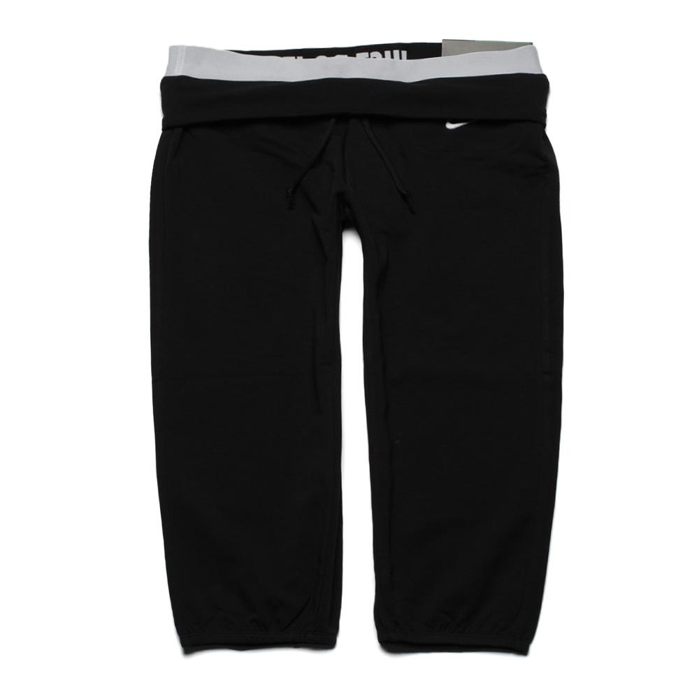 耐克女款纯棉针织短裤紧身裤2013夏季正品 运动裤子432397 010 正品购买
