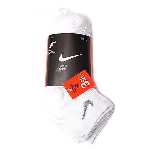 NIKE耐克新款女子3PPK  COTTON CUSHIONED袜子优惠装SX4837-114