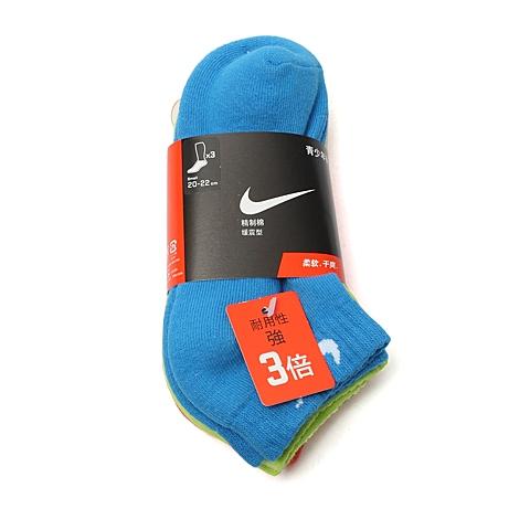 NIKE耐克童装 夏季新品专柜同款儿童袜子三件套SX4942-945