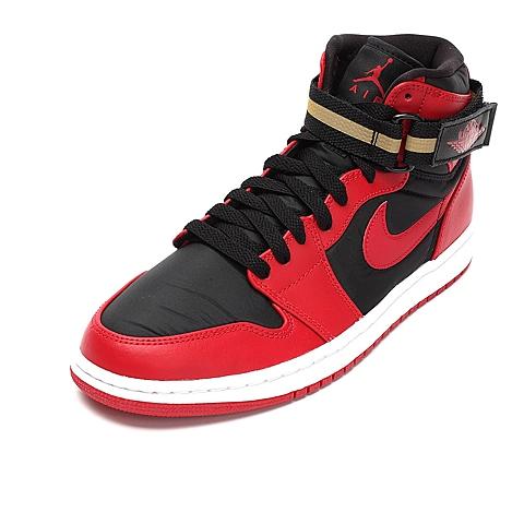 NIKE耐克 新款男子AIR JORDAN 1 HIGH STRAP篮球鞋342132-002